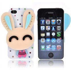 Bling Bling Rabbit iPhone Case