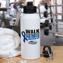 Walk for Arthritis Awareness Water Bottle
