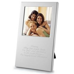 Silver Sophistication 3x3 Picture Frame