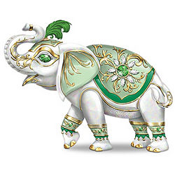 Fortune's Smile Elephant Figurine