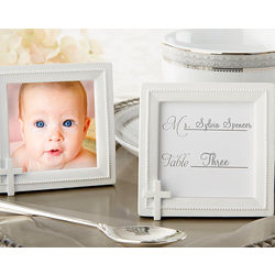 Faith and Love Cross Photo Frame/Place Card Holder