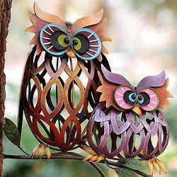 Weather Resistant Owl Sculpture