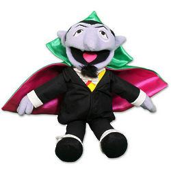 Plush Count Dracula Doll