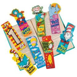 Dr. Seuss Incentive Bookmarks
