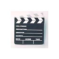 Small Movie Director Clapboard
