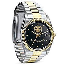 Stainless Steel US Navy Watch