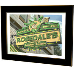 Personalized Authentic Irish Pub Sign
