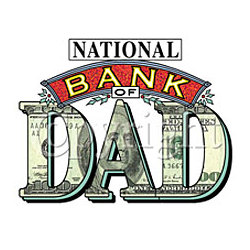 National Bank of Dad T-Shirt