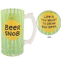 Beer Snob Ceramic Beer Stein