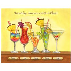 Cool Tropical Drinks V Personalized Print