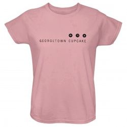 Georgetown Cupcake Logo Women's T-Shirt in Pink