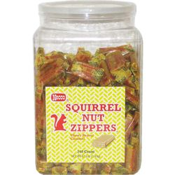 Squirrel Nut Zippers Candy Tub