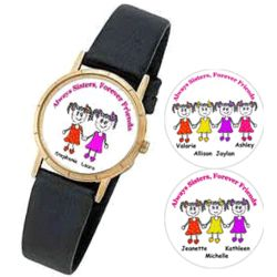Personalized Sisters Watch