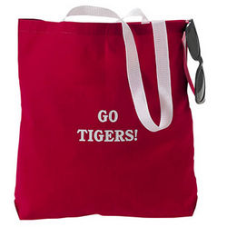 Personalized Large Red Tote Bags