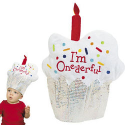 One-derful 1st Birthday Hat