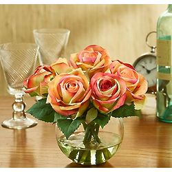 Silk Assorted Rose Water Bouquet