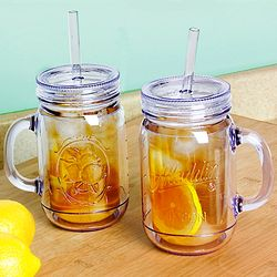 Thermal Double Wall Mason Jar Tumblers