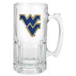 West Virginia University Moby Beer Mug