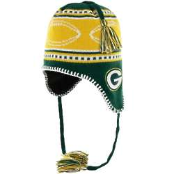 Green Bay Packers Youth Gameda Knit Hat