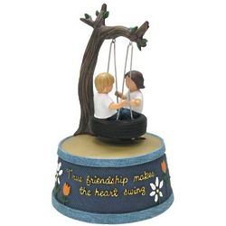 True Friendship Animated Musical Figurine