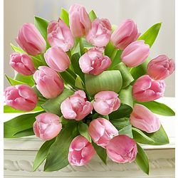 Perfectly Pink Tulips Bouquet