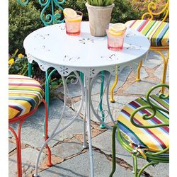 Metal Butterfly Cut-Outs Table