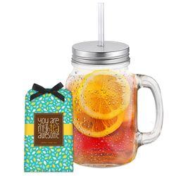 Sweet Iced Tea with Glass