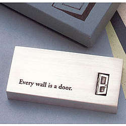 Every Wall is a Door Paper Weight