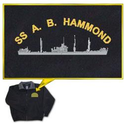 Custom Embroidered 3 Season Jacket with Ship Design