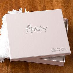 Personalized Baby's Keepsake Box