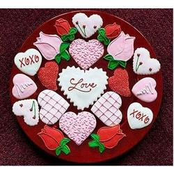 Valentine's Day Sugar Cookie Assortment