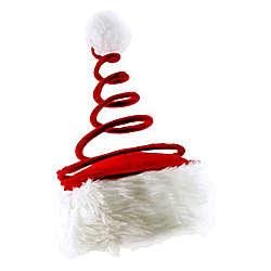 Red Coil Santa Hat