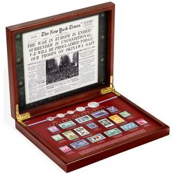 World War II Coin and Stamp Collection