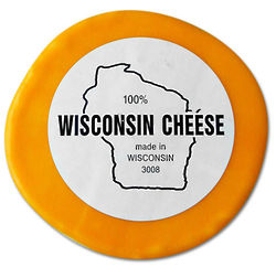 1 lb. Round of Wisconsin Cheddar Cheese
