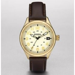 Vintage Bronzed Classic Leather Watch