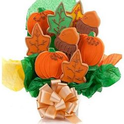 Happy Autumn 5 Bloom Cookie Bouquet