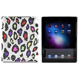 Multi Color Leopard Print iPad Case