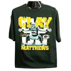 Packers Men's Clay Matthews Sackmaster T-Shirt