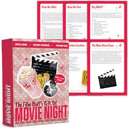 Film Buff's Movie Night Gift Set