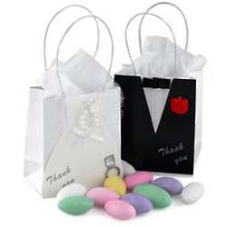 Mini Bride or Groom Favor Bag