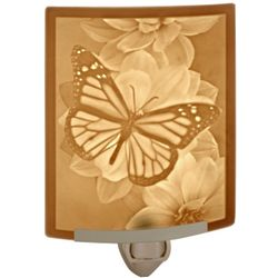 Butterfly Lithophane Night Light