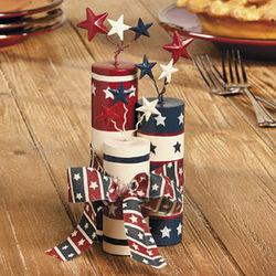 Patriotic Fireworks Tabletop Decor