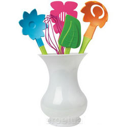 Flower Blooms Utensil Set