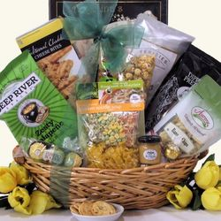 Snacks and Soup Gourmet Gift Basket