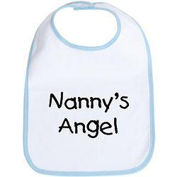 Nanny's Angel Baby Bib