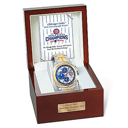 Chicago Cubs 2016 World Series Commemorative Chronograph Watch