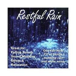 Restful Rain White Noise CD