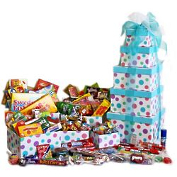 Super Mega Nostalgic Candy Gift Tower