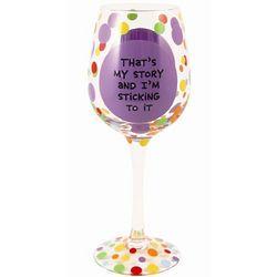 Ageless Beauty Wine Goblet