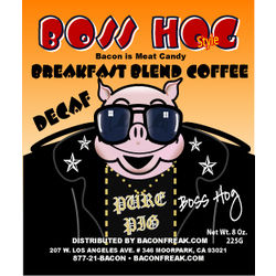 Boss Hog Decaf Breakfast Blend Coffee